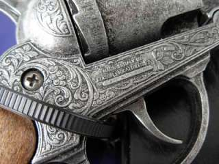 US Civil War Colt Army 1860 revolver Pistol Holster Toy Prop CAP GUN