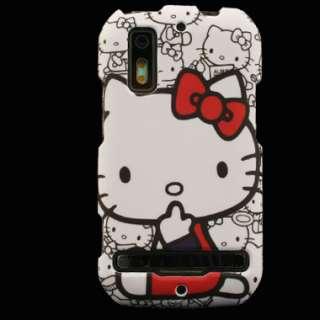 for Motorola PHOTON 4G Sprint Hello Kitty Cover Skin I Faceplate Hard