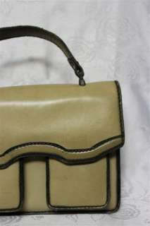 COOL VINTAGE WOMENS LADIES LEATHER PURSE HANDBAG TOTE