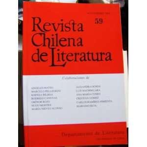 Revista Chilena de Literatura (59 Noviembre): Hugo Montes: Books