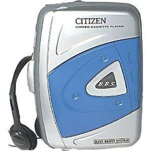 CITIZEN AMERICA CORP AW110 Portable Stereo Cassette