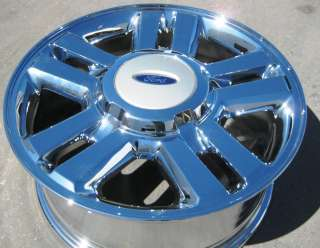 FACTORY FORD F150 PICKUP OEM CHROME WHEELS RIMS EXCHANGE YOUR STOCK