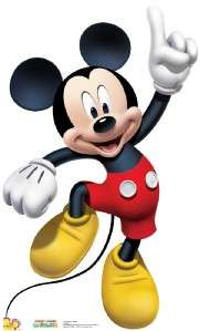 MOUSE CLUBHOUSE MICKEY DANCE LIFESIZE CARDBOARD STANDUP CUTOUT STANDEE
