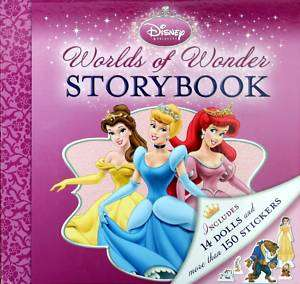 Disney Princess Deluxe Paper Doll Playhouse Book Kit