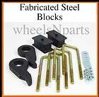 Chevy Truck LIFT KIT 1 3 FRT KEYS 2 REAR FABRICATED STEEL BLOCKS 618