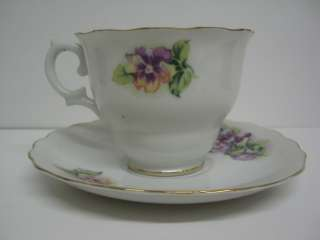 Royal Sealy China cup and saucer