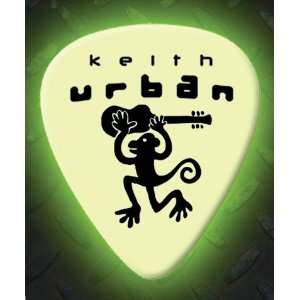 Keith Urban 5 X Glow In The Dark Premium Guitar Picks