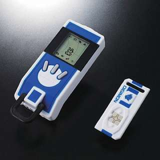come my  from japan digivice ic blue from digimon japanese version