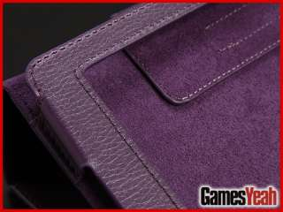 Leather Folio Stand Skin Case Cover for  Kindle Fire 7 Tablet