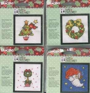 Cross Stitch Kit Asstd Mary Engelbreit Christmas NEW