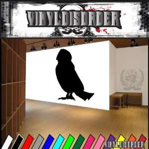 Barn Owl Bird Animal Animals Vinyl Decal Sticker 001