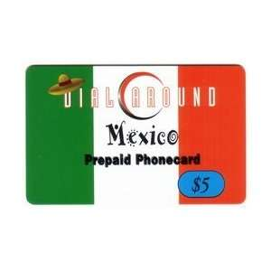Collectible Phone Card $5. Dial Around Mexico. Little
