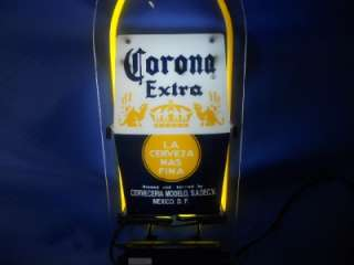 NEW CORONA LIGHT BOTTLE NEON SIGN 2 SIDED DECORATIVE SIGN BAR BEER