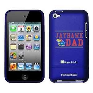 University of Kansas Jayhawk Dad on iPod Touch 4g