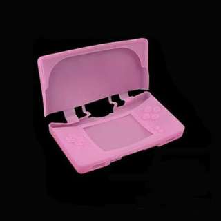 Pink Silicone Skin Case for Nintendo DSL NDS Lite NDSL