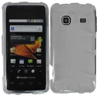 Clear Cover for Straight Talk Samsung Galaxy Precedent Snap on Hard