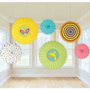 Lets Party By Amscan Fisher Price Baby Shower Paper Fan