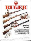 1992 STURM, RUGER RIFLE AD 77/22 RS Express No. 1 International