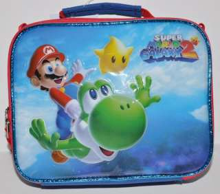 SUPER MARIO BROS YOSHI LUNCHBAG LUNCH BOX TOTE BAG #F