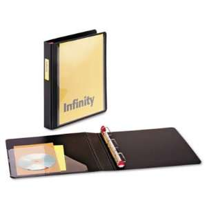 Ring Binder   1in Capacity, Black(sold in packs of 3)