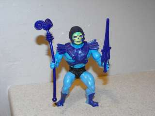 1982 He Man MOTU Half Boot Skeletor Figure Near Complete