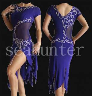 Ld803 Waltz Tango Chacha Salsa latin Dance Dress US 6