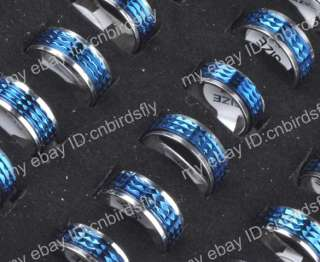 NEW 35pcs Wholesale jewelry Lots High Quality Stainless Steel Rings