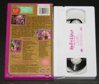 and Dance with Barney VHS Celebrating 10 Years 045986020307