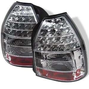 Honda Civic 96 97 98 99 00 3DR LED Tail Lights + Hi Power
