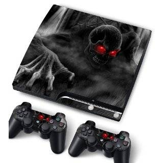 com Bundle Monster Vinyl Skins For Sony Playstation PS3 Game Console