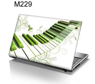 15.6 Laptop Skin Cover Sticker Decal piano keys 229