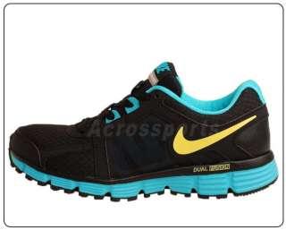 Nike Wmns Nike Dual Fusion ST 2 MSL Black Blue 2011 Women Running Shoe