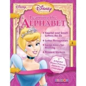 Disney Princess Alphabet Workbooks  Case of 48 Toys & Games