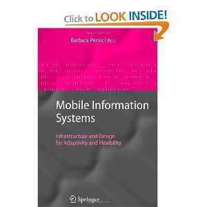 for Adaptivity and Flexibility (9783642068171) Barbara Pernici Books