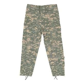 ACU Camouflage COMBAT UNIFORM PANTS   Cotton/Poly Rip Stop, Fatigue