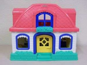 Fisher Price Sweet Sounds Little People Doll House Children Dog Cars