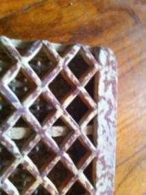 vintage Gas Space Heater Radiant Brick Grate Ceramic