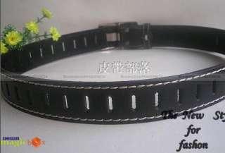 Women Fashion Wide Leather Belt Brown/Black/White New