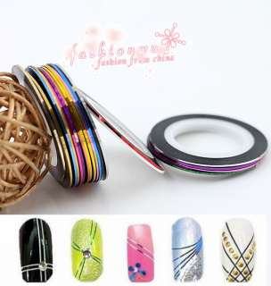 Pretty Rolls Striping Tape Line Nail Art Decoration Sticker