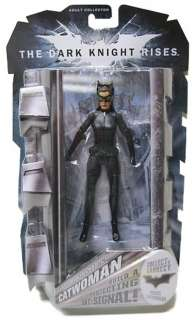 BATMAN THE DARK KNIGHT RISES 6 CATWOMAN ACTION FIGURE 6 PK LICENSED
