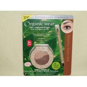 Physicans Formula Organic Wear *Brown Eyes* Enhancing Kit: Beauty