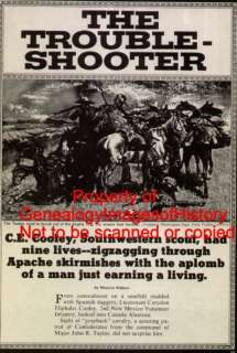 Cooley   Pioneer Frontier Cavalry Scout + Genealog