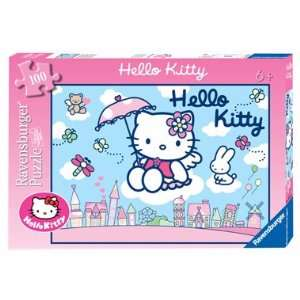 Hello Kitty 100 Piece Puzzle Toys & Games