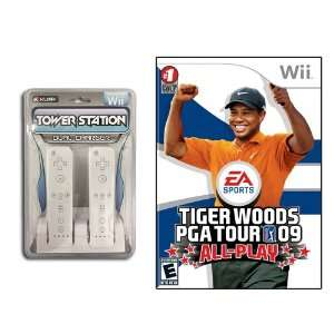 Wii Tiger Woods PGA Tour 09 All Play Gaming Combo Video