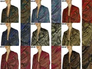 Cashmere Silk Wool Pashmina Scarf Shawl Wrap Cape 829s