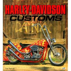 Harley Davidson Customs (Enthusiast Color) (9780879389895