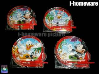 Mickey Mouse Birthday Party Toy 4x Pinball Game m376