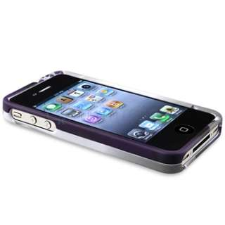 Snap on Rubber Hard Case Cover for iPhone 4 G 4S USA Seller