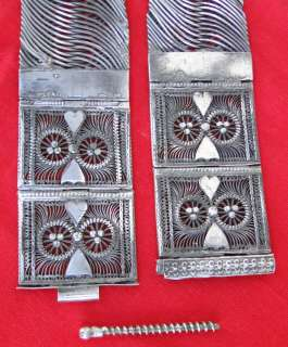 vintage antique ethnic tribal old silver Belt Belly chain south india