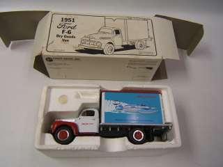 First Gear 1951 Ford Dry Goods Van Atlas Van Lines
